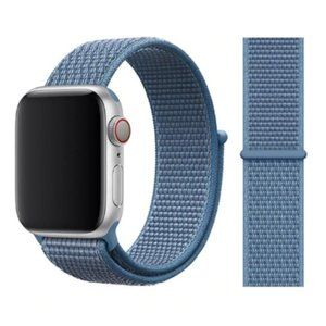 NEW Cape Cod Blue Strap Loop For Apple Watch